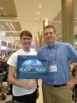 My recruiter, John from Reach to Reach, and me!
